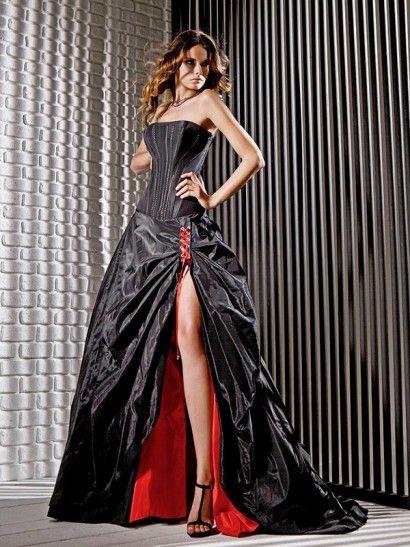 Black dress by Gritti Spose / Wedding Dresses 2013