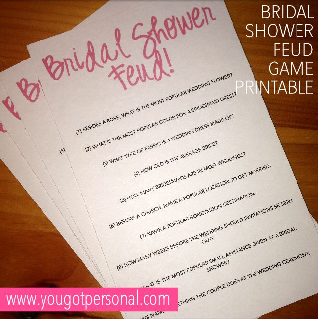Best 25+ Bridal Shower Games Ideas On Pinterest