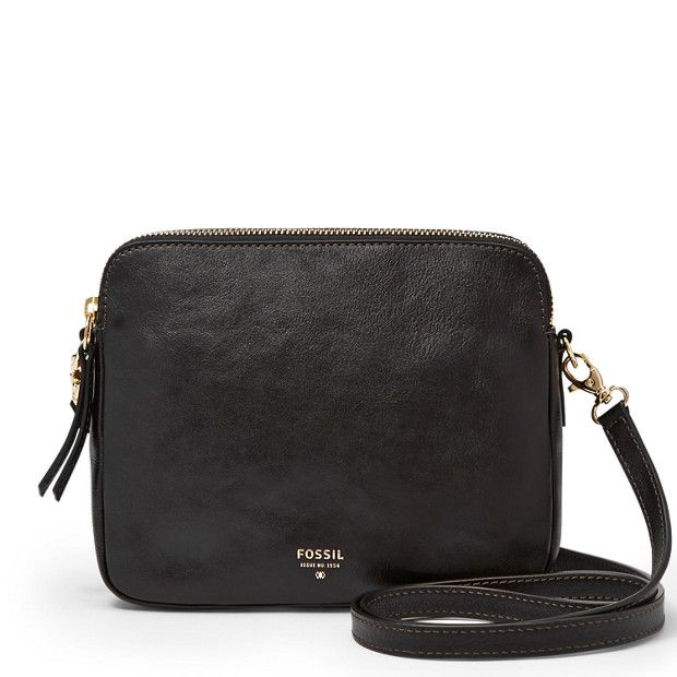 Sydney Crossbody Doesn't need to be this specific one but I want a black, across the body purse. One that has a skeleton so that the bag doesnt sag and instead keeps its shape.