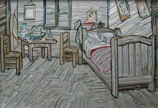I dipinti mosaico di Lee Kyu-Hak http://www.design-miss.com/arte-girasoli-di-legno-i-dipinti-mosaico-di-lee-kyu-hak/ Un mosaico di legno al posto del colore. Un minuzioso assemblamento di tasselli al posto dellepennellatedecise di uno dei più grandi artistidel XIX secolo. E' questa l'arte di Lee Kyu-Hak, un'arte contemporanea che reinterpreta capolavori del passato.  Riproduzioni a mos...