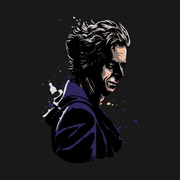 Check out this awesome '12th+doctor' design on @TeePublic!