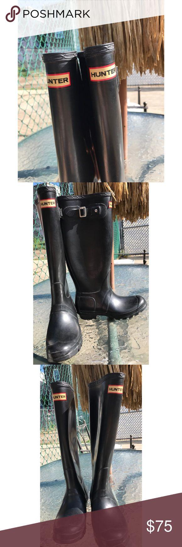 Hunter Original Tall Boots - Glossy •W23499 •Size: US-5M/6F UK-4 EU-37 Hunter Boots Shoes Winter & Rain Boots