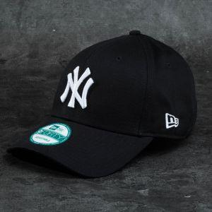 New Era 9Forty League Basic New York Yankees Cap Black/ White