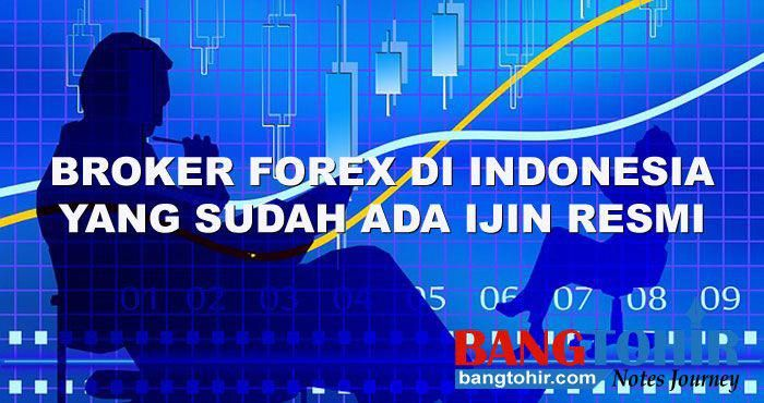 daftar broker forex terpercaya di indonesia