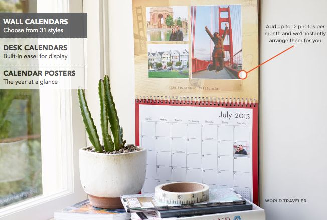 FREE Personalized Desk or Wall Calendar from Shutterfly {Just Pay Shipping}   - http://www.livingrichwithcoupons.com/2013/08/shutterfly-free-personalized-desk-or-wall-calendar-just-pay-shipping.html
