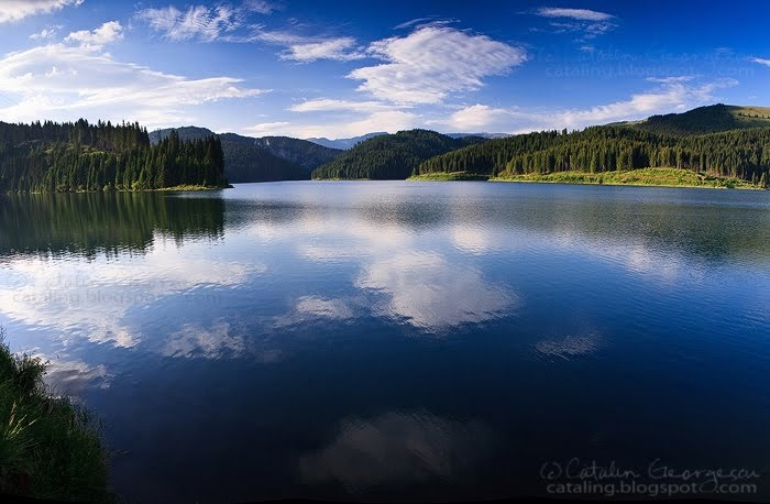 Bolboci Lake, Bucegi Mountains - ROMANIA.