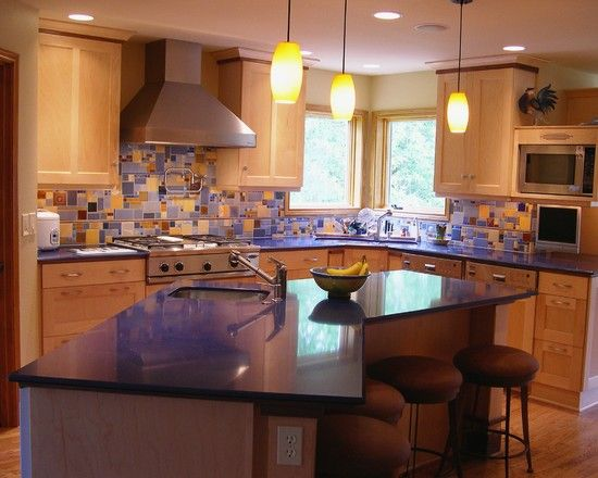 Best Kitchen Backsplash Images On Pinterest Kitchen