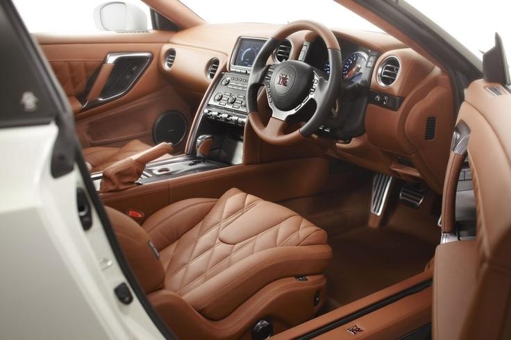 Nissan GTR Egoist interior