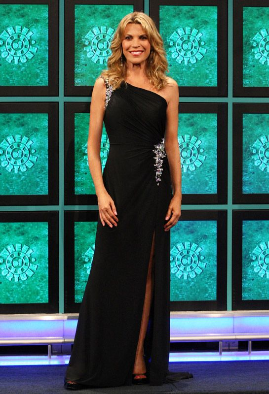 Vanna White Of Wheel of Fortune & ALYCE Paris 2013 Prom Dresses
