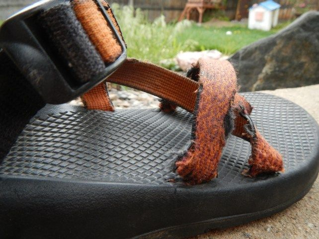 Reweb your Own Chacos for Under $5 - Bring The Kids