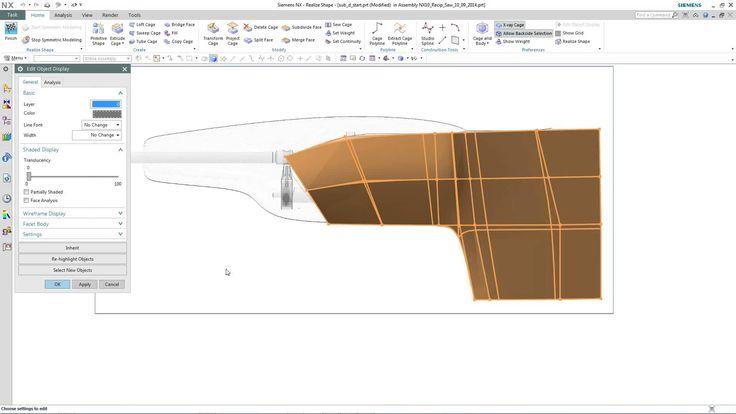 NX10 - Realize Shape