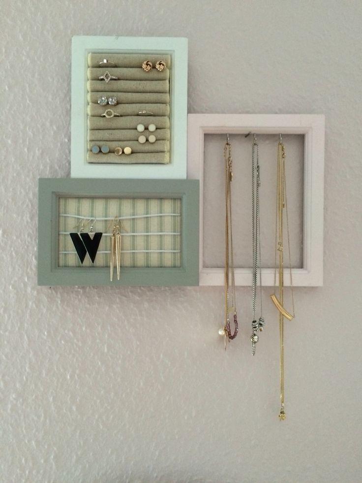die besten 25 schmuckaufbewahrung ideen auf pinterest diy schmuck veranstalter halsketten. Black Bedroom Furniture Sets. Home Design Ideas