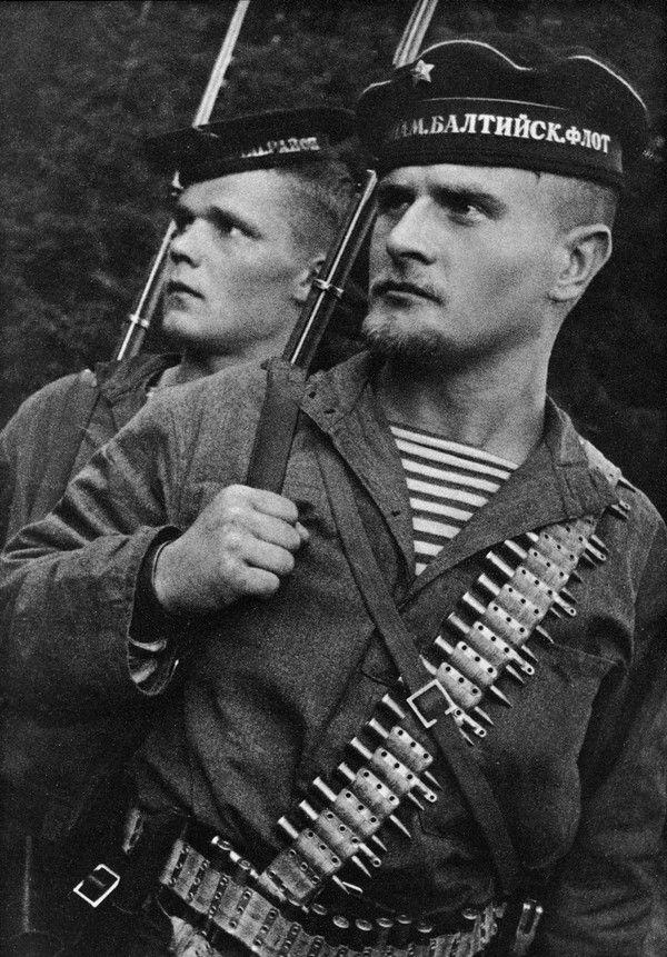 Морская пехота 2-й отдельной бригады Балтийского флота 1941, балтийский флот, портрет, морская пехота, длиннопост
