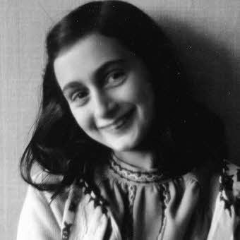 Anne Frank 1929 - 1945.  Amazing young lady.