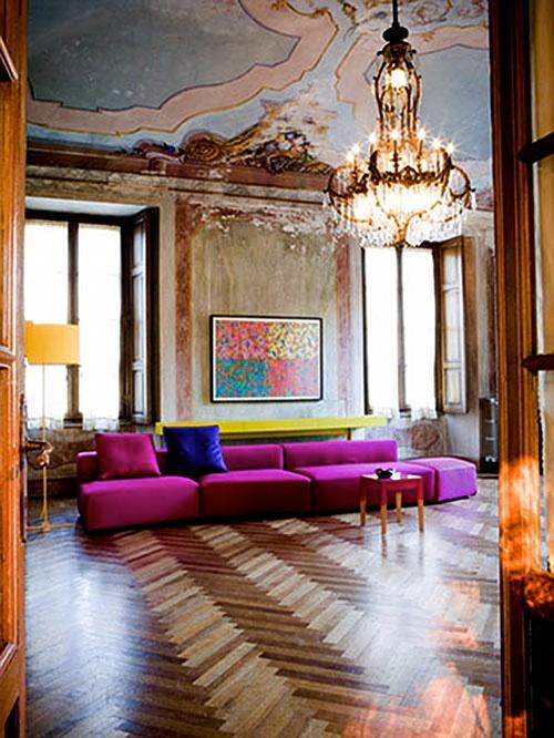.: Decor, Spaces, Boho Chic, Living Rooms, Pink Paris, Interiors Design, Bold Colors, Antiques, Modern Design