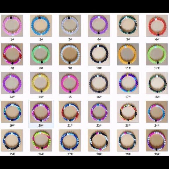 4 bracelets any color Silicone bracelets.... Lokai Jewelry Bracelets