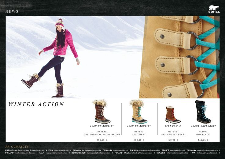Sorel - Winter action !