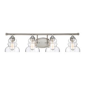 Millennium Lighting 4-Light Satin Nickel Vanity Light 7334-Sn