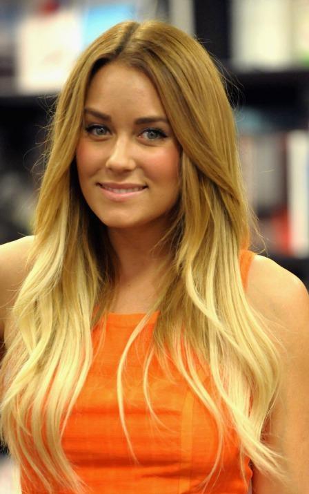 lauren conrads blond ombre hair hairography pinterest