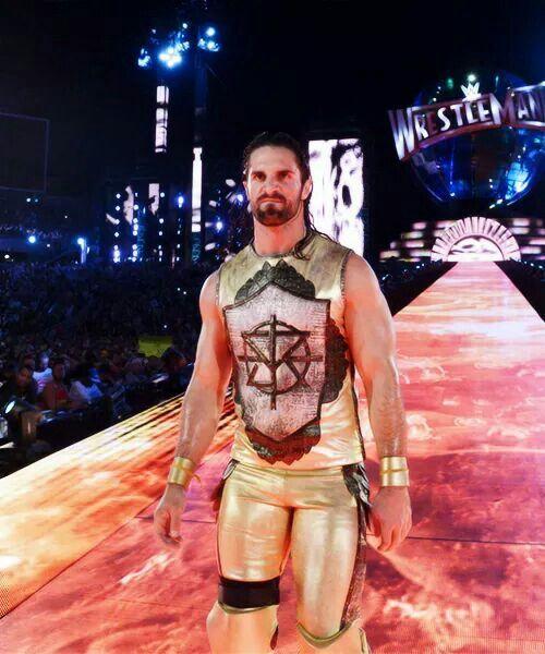 Seth Freakin Rollins In Wrestlemania 33. <<< that's my Kingslayer