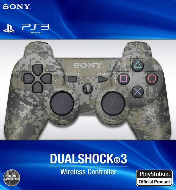 Dualshock 3 Controller - Camouflage