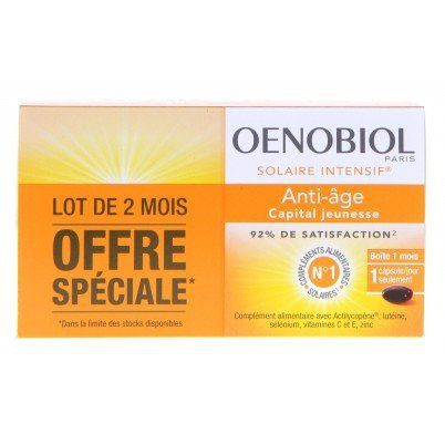 OENOBIOL – Solaire intensif Anti Age