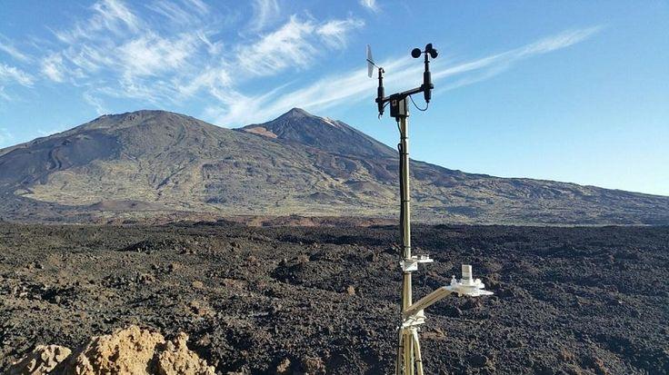 Estaciones meteorológicas para el estudio del cambio climático en el Teide - https://www.meteorologiaenred.com/estaciones-meteorologicas-estudio-del-cambio-climatico-teide.html