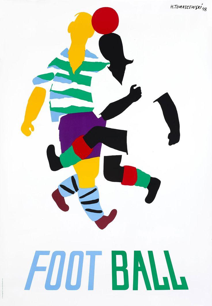 henryk-tomaszewski-affiche-Foot-ball-1948