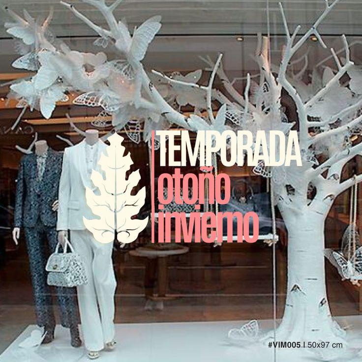 Temporada oto o invierno 005 vidrieras colecci n for Decoracion de vidrieras de ropa