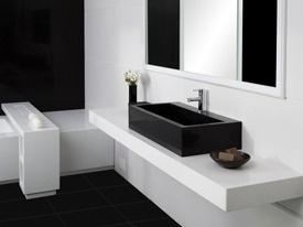 CaesarStone - Pure White + Black