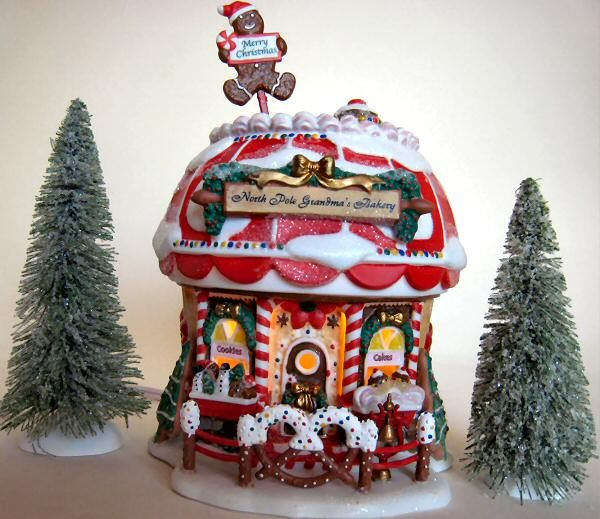 North Pole Grandma's Bakery, Limited Edition to 2002, Avon Exclusive
