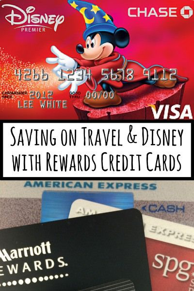 Saving on Travel & Disney with Rewards Credit Cards: Are you using the right credit cards to maximize your family's frequent flyer miles and points? A roundup of credit cards mistakes and a review of the Disney Chase card.