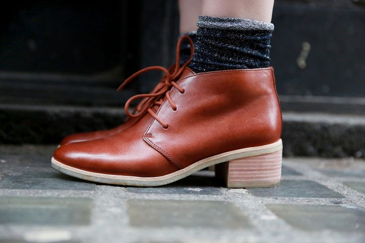 Phenia Carnaby Clarks Originals heeled boots, as styled by Lucie Loves. http://www.clarks.co.uk/c/originals-womens/boots