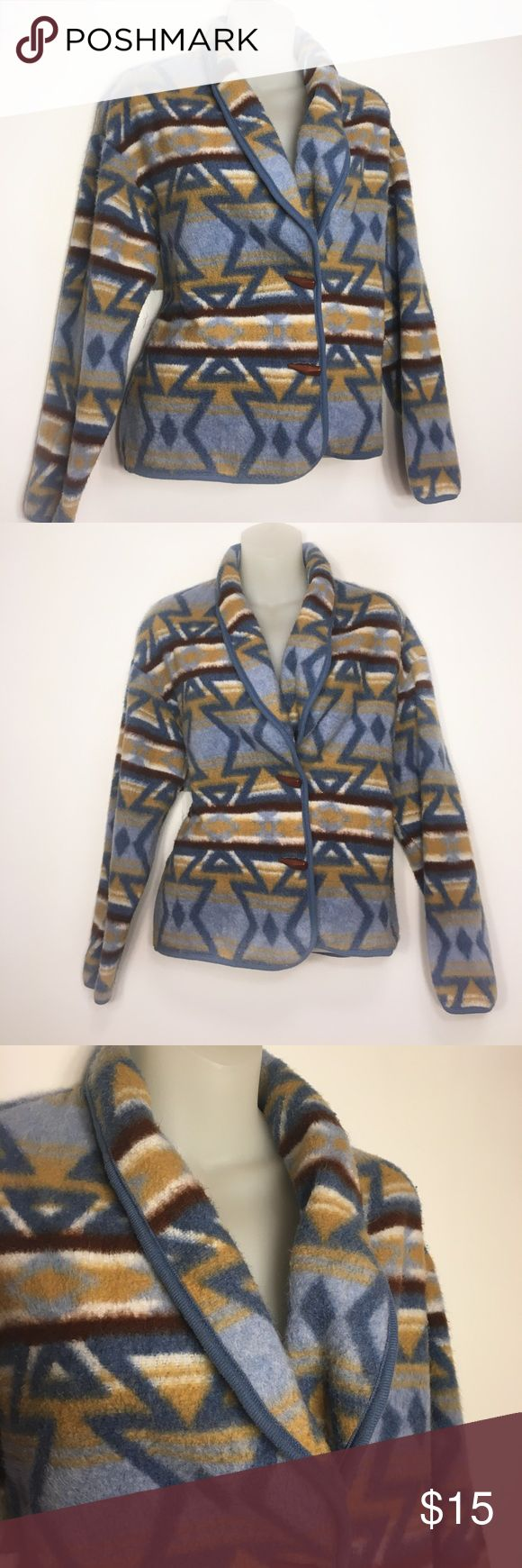 Aztec Jacket🌲 Cute David Wayne jacket with aztec pattern on it...in good condition🤤 size small!!! Comment below with questions, concerns, or offers. David Wayne Jackets & Coats