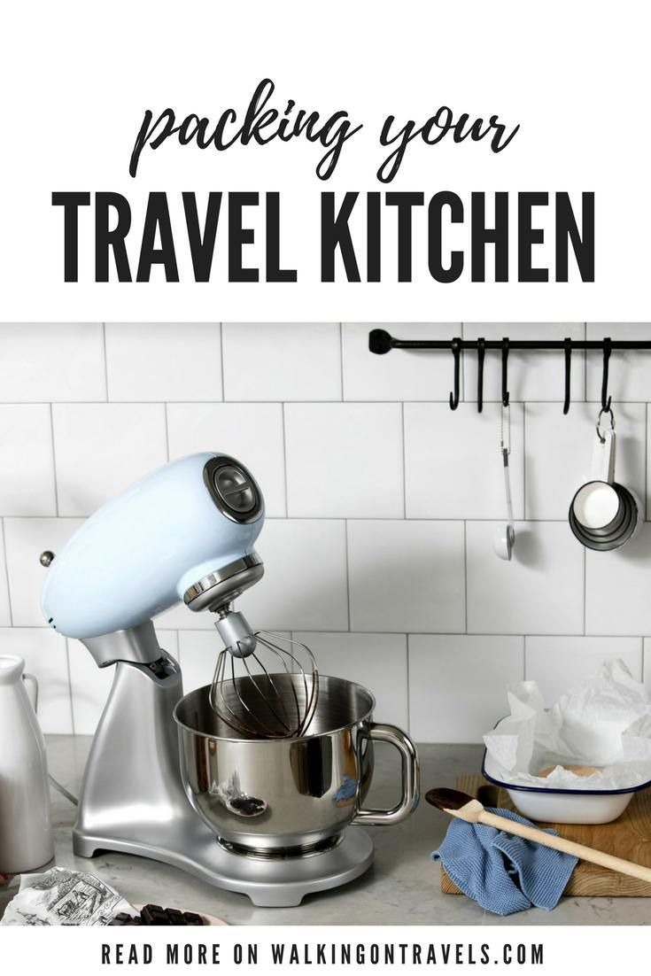 Traveling Kitchen Craftsman Style Hardware What To Pack In A For Your Vacation Rentals Travel Tips Pinterest And