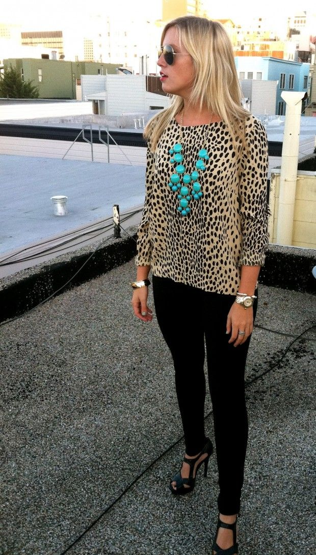 Top 20 Stunning Women's Outfits with Leopard Print