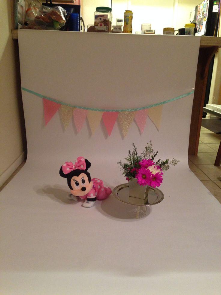 My Diy Cake Smash Backdrop Hobby Lobby Fade Less Paper