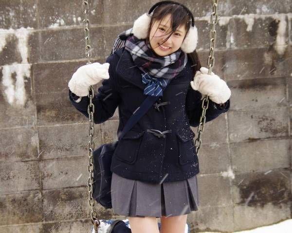 体験談 びしょ濡れリクエストコーナー15 冬制服重ね着 入浴編 さやかの秘密cafe 女の子の衣装 制服 マフラー レディース コート