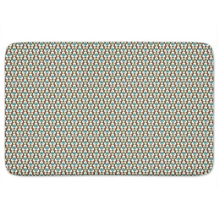 Uneekee Cintemani Brown Bath Mat