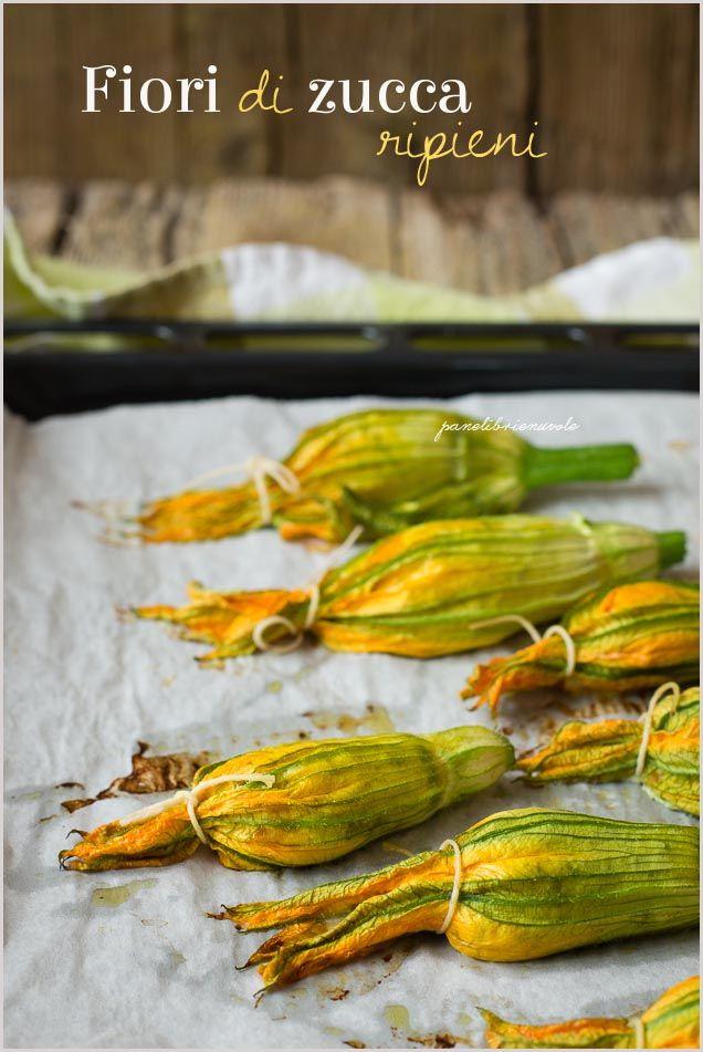 Fiori di zucca ripieni di ricotta - ricotta stuffed zucchini flowers