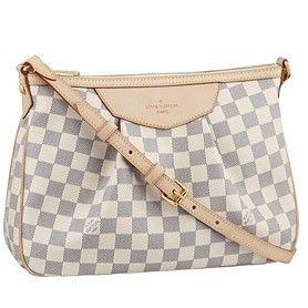 Replica Handbags Louis Vuitton Damier Azur Siracusa PM
