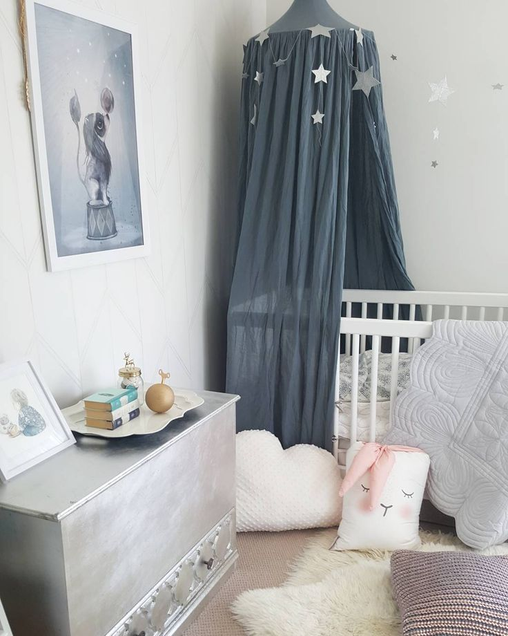 Numero74 Ice blue canopy looks amazing in this nursery! & 153 best nº74 Decor | Canopy images on Pinterest | Child room ...