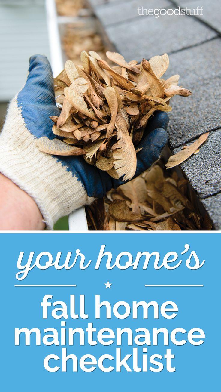Fall home project checklist