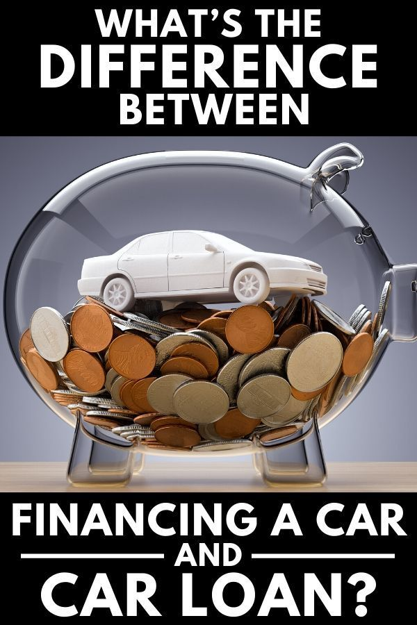 What S The Difference Between Financing A Car And Car Loan In 2020 Car Loans Loans For Bad Credit Paying Off Car Loan
