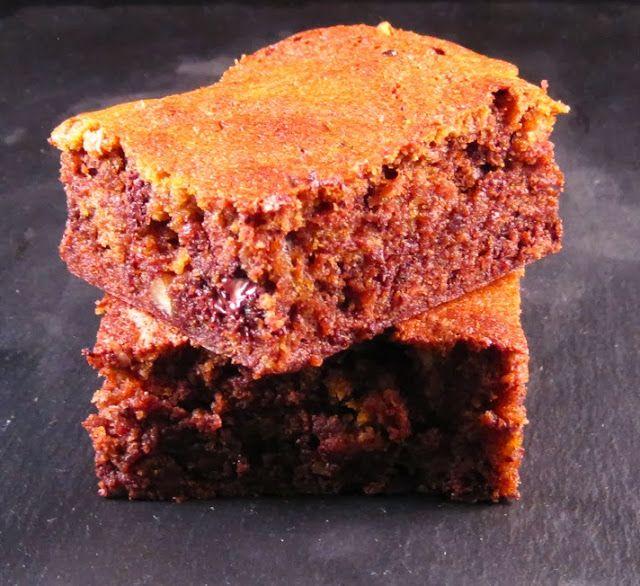 Just Bake: Chocolate and Roast Pumpkin Brownies