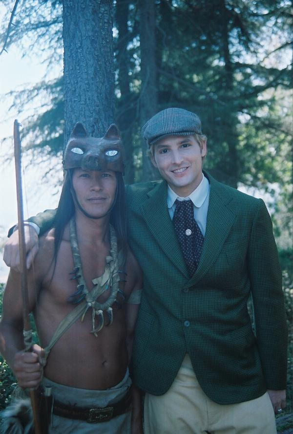 Ephraim Black with Carlisle Cullen. Played by Rick Mora and Peter Facinelli.