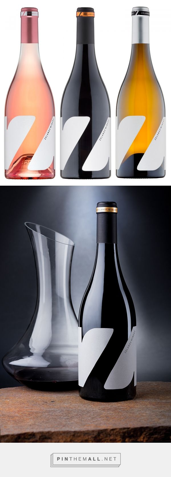 Z wine labels by the Labelmaker on Bechance   #GraphicDesign #Packaging #Typography