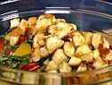 Ratatouille Panzanella Salad with Herb-Parmesan Dressing