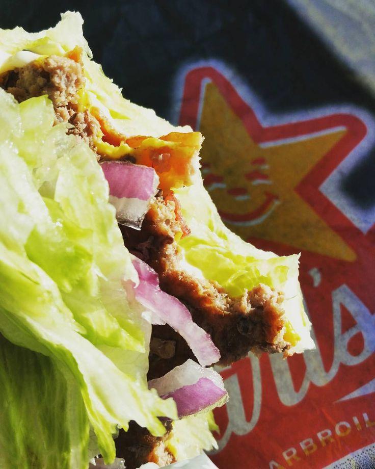 Carlu0027s Jr In A Pinch! Hereu0027s How We Order  Western Bacon Cheeseburger  Lettuce