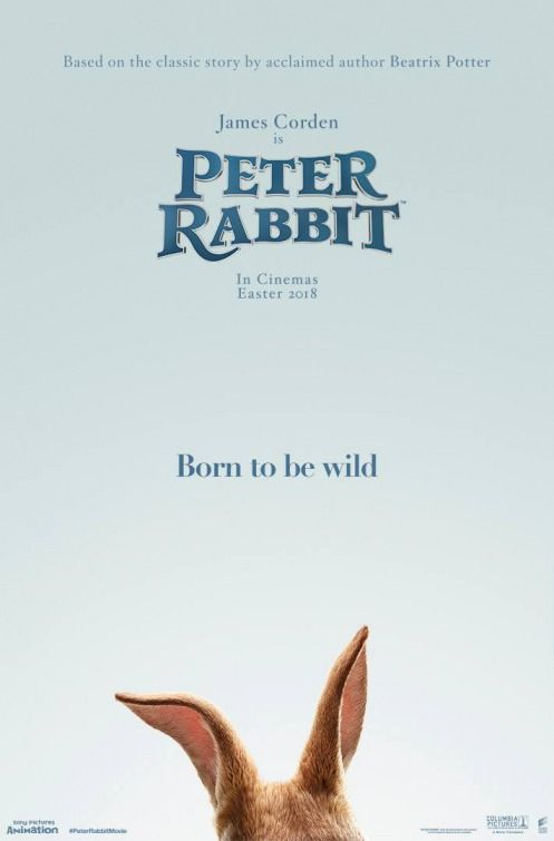 Peter Rabbit - new teaser poster -> https://teaser-trailer.com/movie/peter-rabbit/  #PeterRabbit #PeterRabbitMovie #MoviePoster
